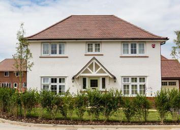 Thumbnail 4 bedroom detached house for sale in Sanderson Manor, Cambridge Road, Hauxton, Cambridge