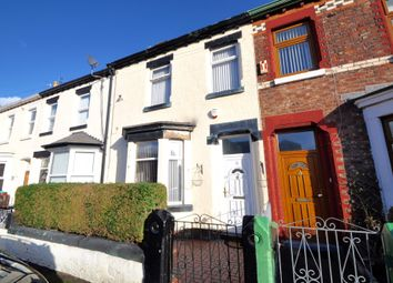 Thumbnail 4 bed terraced house for sale in Clwyd Street, Wallasey