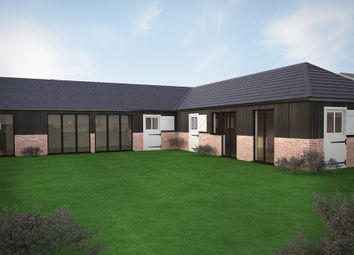 Thumbnail 4 bed link-detached house for sale in Plot 1 The Barns, Bedford Road, Cople
