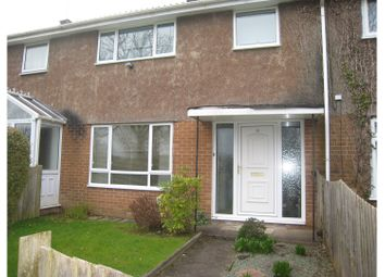Thumbnail 3 bed terraced house for sale in Steynton Path, Cwmbran