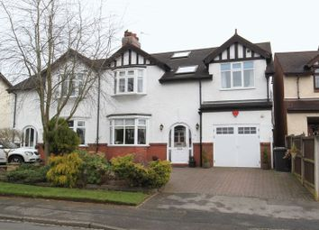 Thumbnail 5 bed semi-detached house for sale in Eleanor Crescent, Newcastle-Under-Lyme