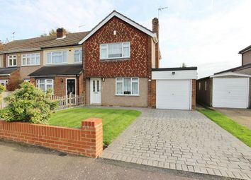 Thumbnail 3 bed semi-detached house for sale in Lichfield Way, Broxbourne