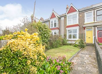 4 bed terraced house for sale in Mount Pleasant Road, Camborne, Cornwall TR14