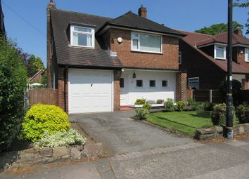 Thumbnail 3 bed detached house for sale in Cecil Avenue, Sale, Greater Manchester.