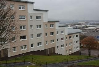 Thumbnail 1 bed flat to rent in Chirnside Place, Hillington, Glasgow
