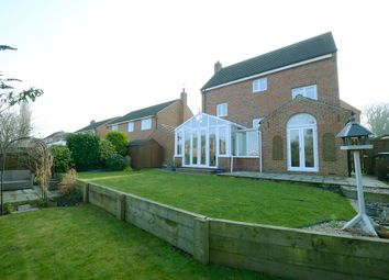 Thumbnail 5 bed detached house for sale in Saxton Close, Hasland, Chesterfield