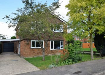 Thumbnail 4 bed detached house for sale in Pilgrims Close, Harlington, Dunstable