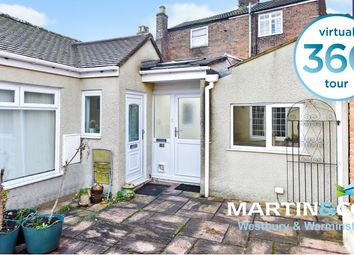 Thumbnail 2 bed terraced bungalow for sale in East Street, Warminster