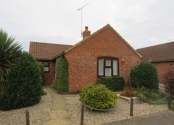 Thumbnail 2 bed detached bungalow for sale in Hawthorn Walk, Holt