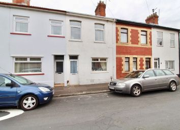 Thumbnail 3 bedroom terraced house for sale in Wedmore Road, Grangetown, Cardiff