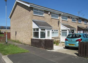 Thumbnail 3 bed terraced house for sale in Axminster Close, Cramlington
