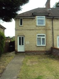 Thumbnail 3 bedroom semi-detached house to rent in Darwin Drive, Cambridge
