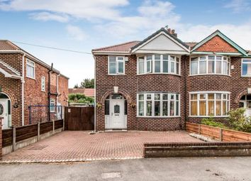 Thumbnail 3 bedroom semi-detached house for sale in Lincoln Avenue, Stretford, Manchester, Greater Manchester