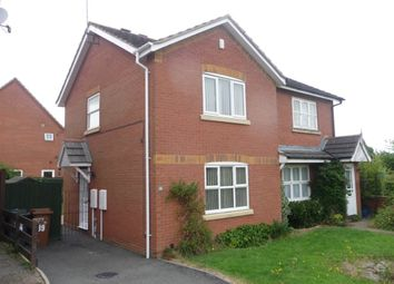 Thumbnail 2 bed property to rent in Cross Waters Close, Wootton, Northampton