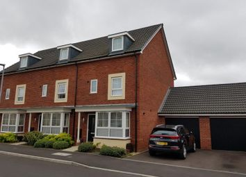 Thumbnail 4 bed town house to rent in Bircher Way, Hucclecote, Gloucester