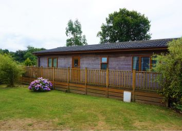 Thumbnail 2 bed mobile/park home for sale in Louis Way, Honiton