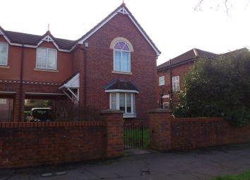 Thumbnail 3 bed mews house to rent in Wilbraham Road, Fallowfield