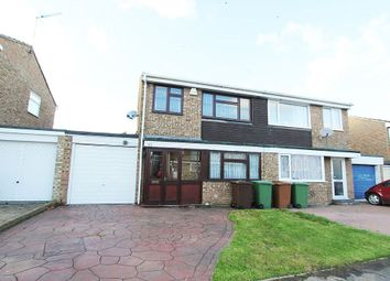 Thumbnail 3 bed semi-detached house for sale in Tutsham Way, Paddock Wood, Tonbridge, Kent