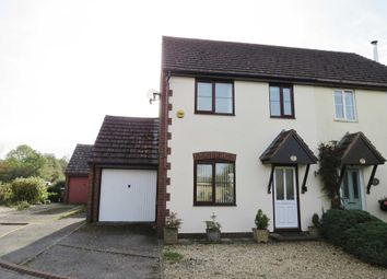 Thumbnail 3 bed semi-detached house for sale in St. Georges Close, Ogbourne St. George, Marlborough