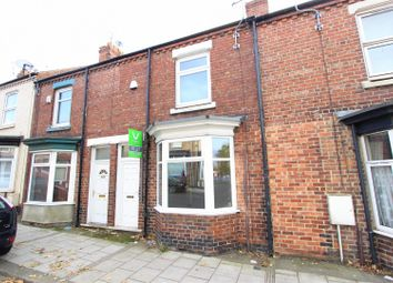 Thumbnail 2 bed terraced house to rent in Eastmount Road, Darlington