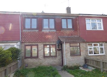 Thumbnail 3 bed terraced house for sale in Edgcote Close, Westwood, Peterborough