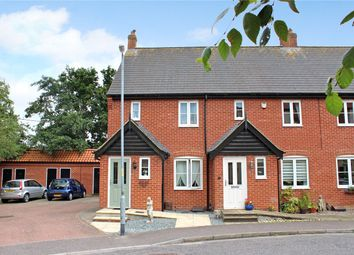 Thumbnail 2 bed end terrace house for sale in Trafalgar Square, Poringland, Norwich, Norfolk