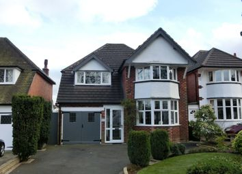 Thumbnail 4 bed detached house for sale in Bills Lane, Shirley, Solihull
