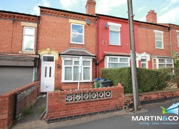Thumbnail 2 bed terraced house to rent in Three Shires Oak Road, Bearwood