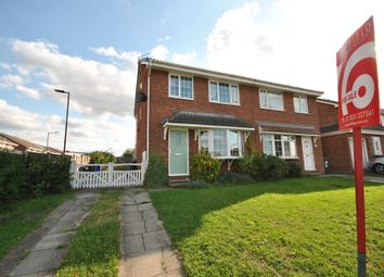 Thumbnail 3 bed semi-detached house for sale in Farringdon Drive, New Rossington, Doncaster