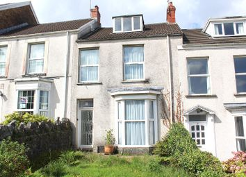 Thumbnail 3 bed terraced house for sale in Upper Church Park, Mumbles, Swansea