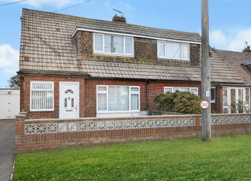Thumbnail 2 bed semi-detached bungalow for sale in Baldwin Road, Greatstone, New Romney, Kent