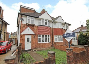 Thumbnail 4 bed semi-detached house to rent in Whitton Manor Road, Isleworth