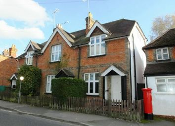 Thumbnail 3 bed end terrace house for sale in The Green, Pirbright, Woking