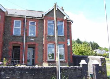 Thumbnail 4 bed semi-detached house for sale in Merchant Street, Pontlottyn, Bargoed