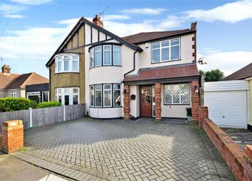 Belvedere Avenue, Clayhall, Ilford, Essex IG5. 4 bed semi-detached house