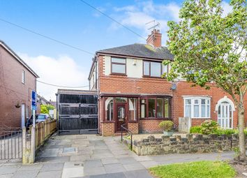 Thumbnail 3 bed semi-detached house for sale in Crossway Road, Stoke-On-Trent