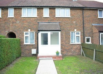 Thumbnail 3 bed terraced house to rent in Tonstall Road, Epsom