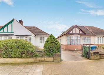 Thumbnail 2 bed semi-detached bungalow for sale in Queens Avenue, Stanmore, Middlesex