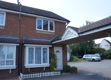 Thumbnail 2 bed town house for sale in Chandlers Close, Marston Moretaine, Bedford
