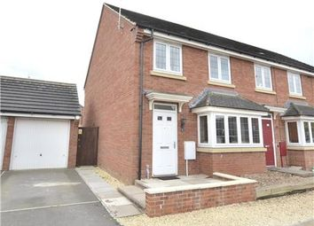 Thumbnail 3 bed end terrace house for sale in Digby Green, Kingsway, Quedgeley, Gloucester