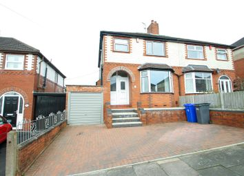 Thumbnail 3 bedroom semi-detached house to rent in Stross Avenue, Tunstall, Stoke-On-Trent