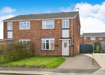 Thumbnail 3 bed semi-detached house for sale in Mauduit Road, Hanslope, Milton Keynes