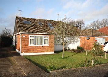 Thumbnail 4 bed semi-detached bungalow for sale in Orchard Road, Smallfield, Horley, Surrey