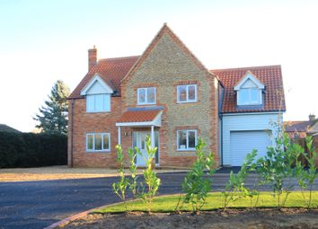 Thumbnail 5 bedroom detached house for sale in Gormans Lane, Colkirk, Fakenham