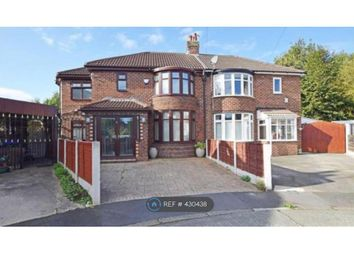Thumbnail 4 bed semi-detached house to rent in Avalon Drive, Manchester