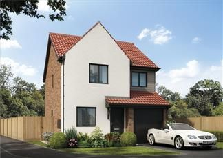 Thumbnail 3 bedroom detached house for sale in Holystone Way, Holystone, Newcastle Upon Tyne