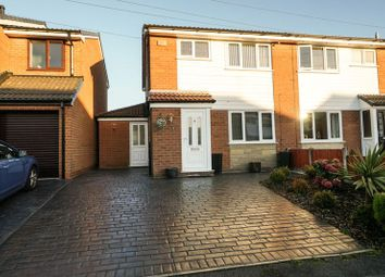Thumbnail 3 bed semi-detached house for sale in Durham Close, Little Lever, Bolton