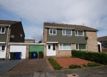 Thumbnail 3 bed semi-detached house for sale in Fetcham Court, Newcastle Upon Tyne