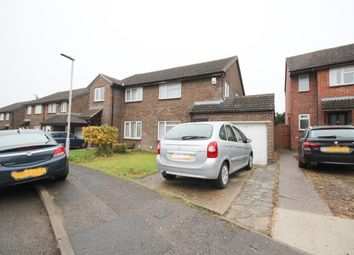 Thumbnail 3 bed semi-detached house to rent in Coleridge Close, Hitchin