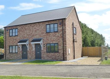Thumbnail 2 bed semi-detached house for sale in Church Road, Walpole St. Peter, Wisbech